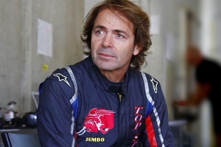 Ingo Gerstl drives in the Toro Rosso STR1 sensational new lap record in Assen / NL