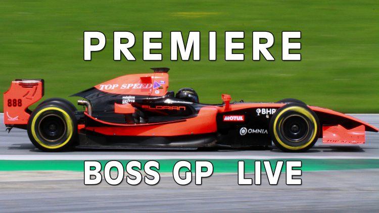 Erstmals BOSS GP im Livestream